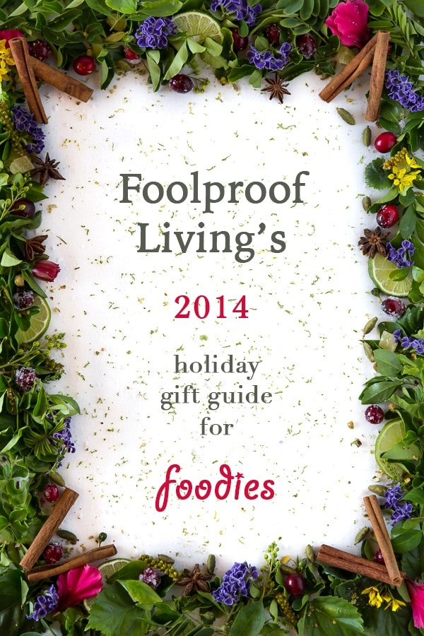 2014 Holiday Gift Guide for Foodies