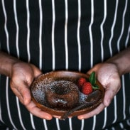 Miguel's Chocolate Fondant