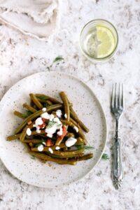 Mediterranean-Style Green Beans