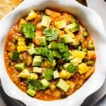 Quinoa Stew in a bowl