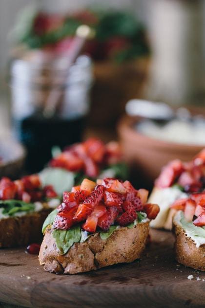 Mushroom and Ricotta Bruschetta Recipe - Allrecipes.com