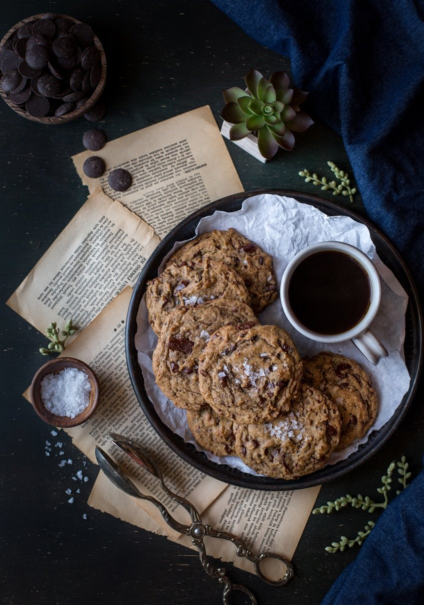 Really Good Chocolate Chip Cookies with Sea Salt I foolproofliving.com