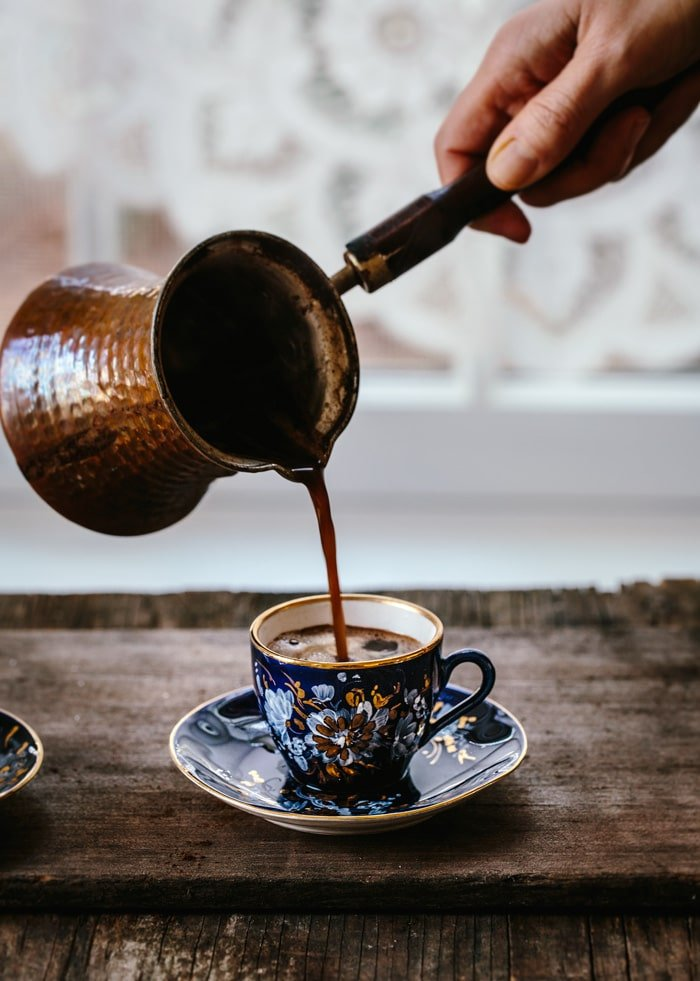 Learn how to make turkish coffee with step by step photos How to make coffee with a coffee maker