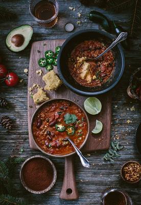 Heartwarming Turkey and Bean Chili