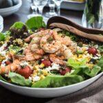Grilled Shrimp and Corn Salad