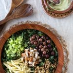 Kale Waldorf Chicken Salad with Avocado Cashew Mayo