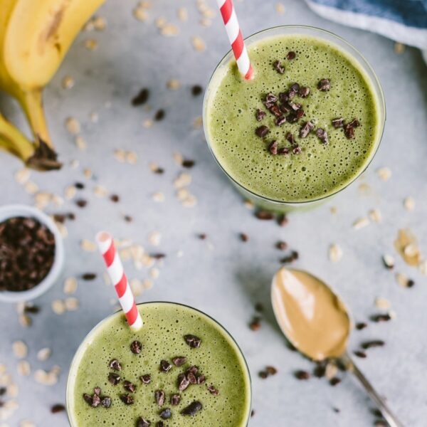 Peanut Butter and Spinach Shake
