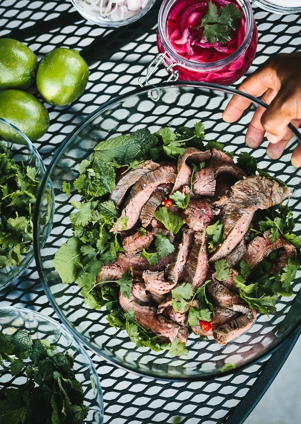 Thai Grilled Beef and Herb Salad