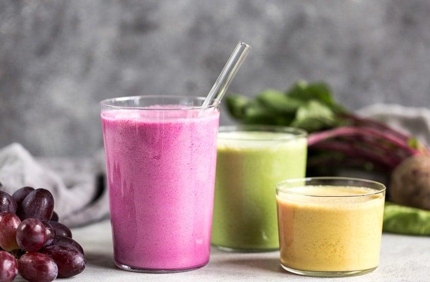 Immune Boosting Multi-Colored Beet Smoothies -9586