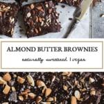 Vegan Spelt Flour Almond Butter Brownies