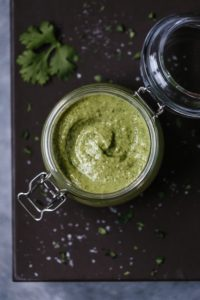Creamy Avocado Salad Dressing -9935