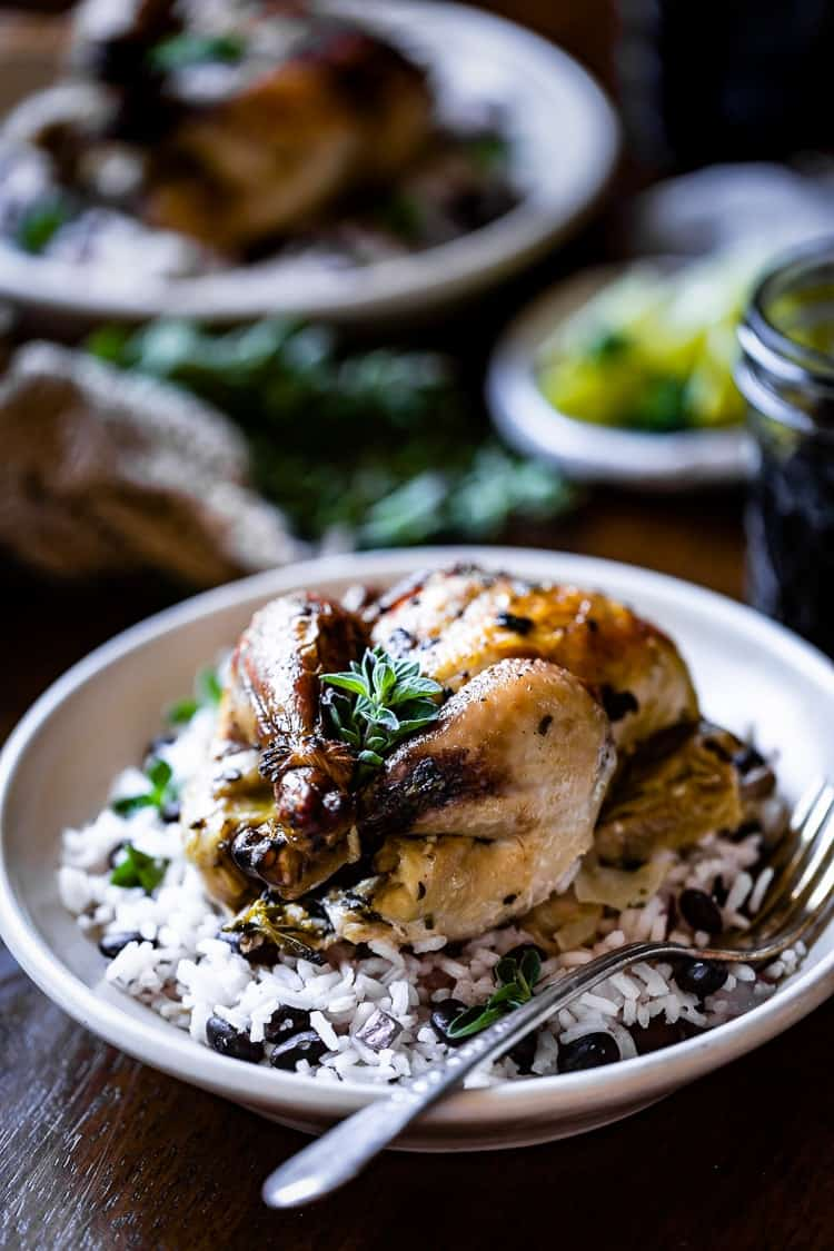 Recipe for cornish hen marinade for the best Roasted Cornish Hens