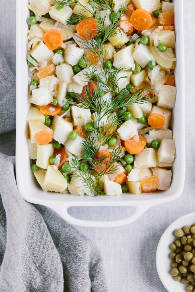 One-Pot Citrusy Winter Root Vegetables