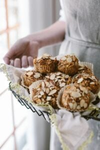Parsnip Morning Glory Bran Muffins: Maple sweetened muffins flavored with parsnips. Healthy and filling.