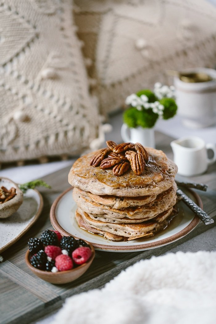 Gluten Free And Maple Sweetened Buckwheat Pancakes Foolproof Living