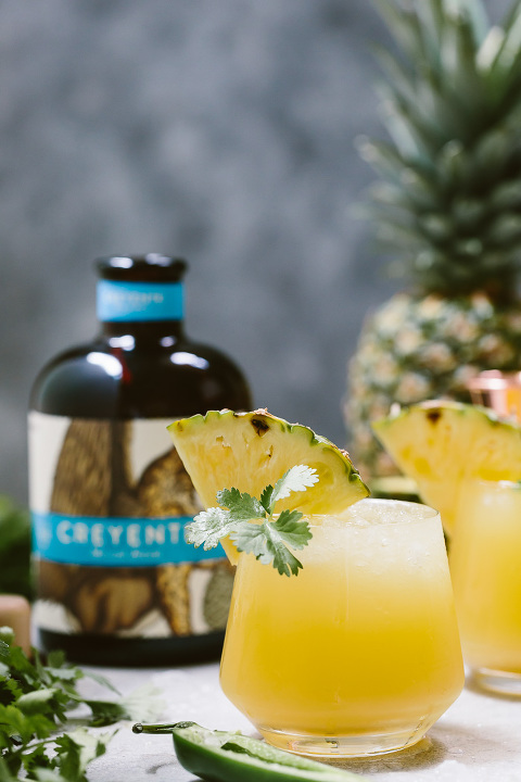Spicy Pineapple Jalapeno Mezcalita