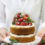 Strawberry Almond Flour Cake-4313