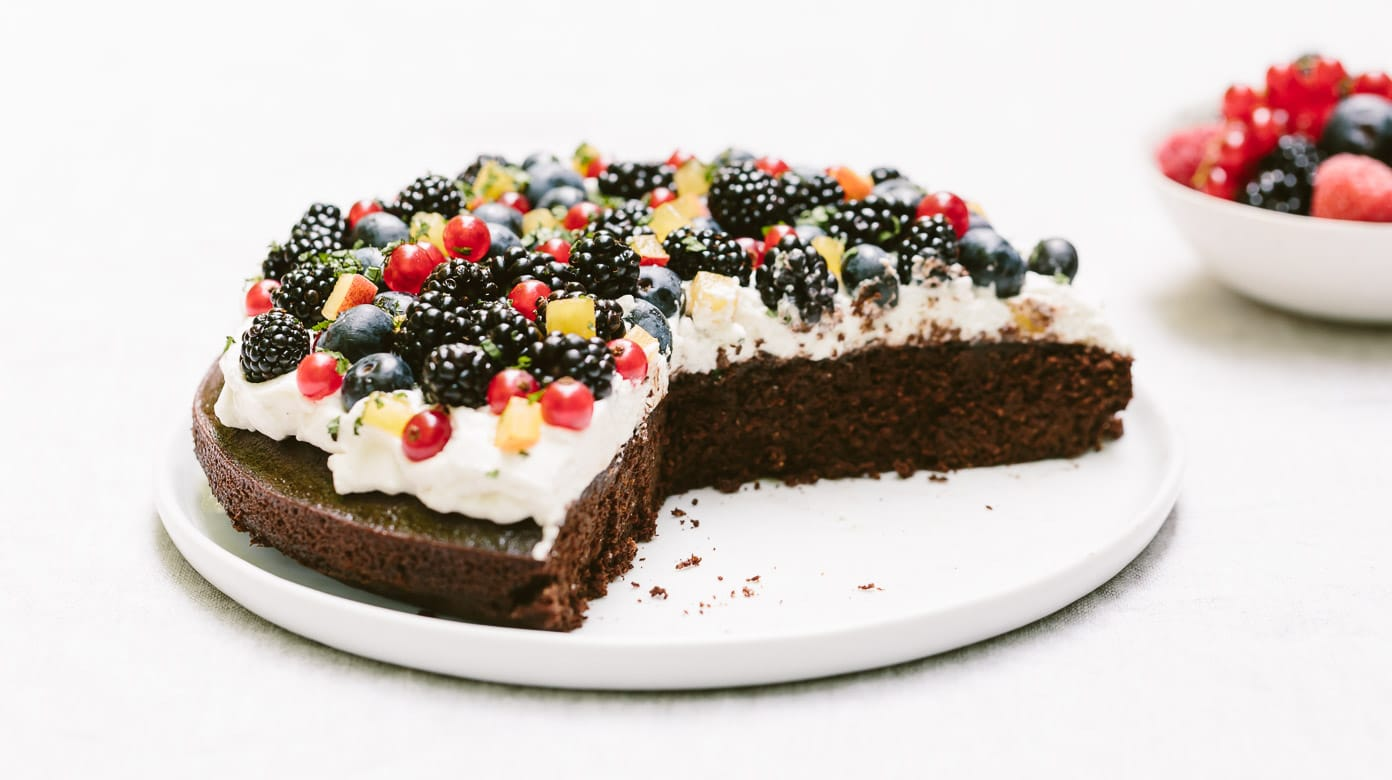 Maple Sweetened Almond Flour Chocolate Cake Video Foolproof Living