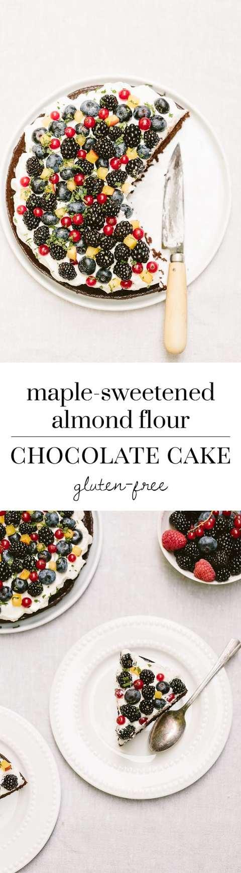 Fruit Sweetened Cake No Refined Sugars