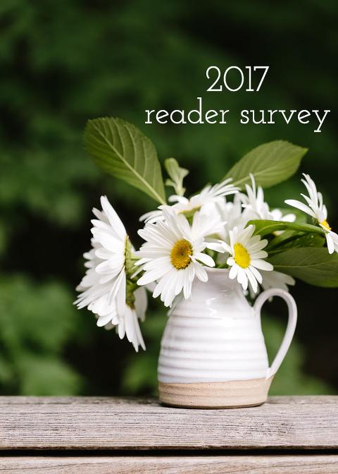 2017 Foolproof Living Reader Survey