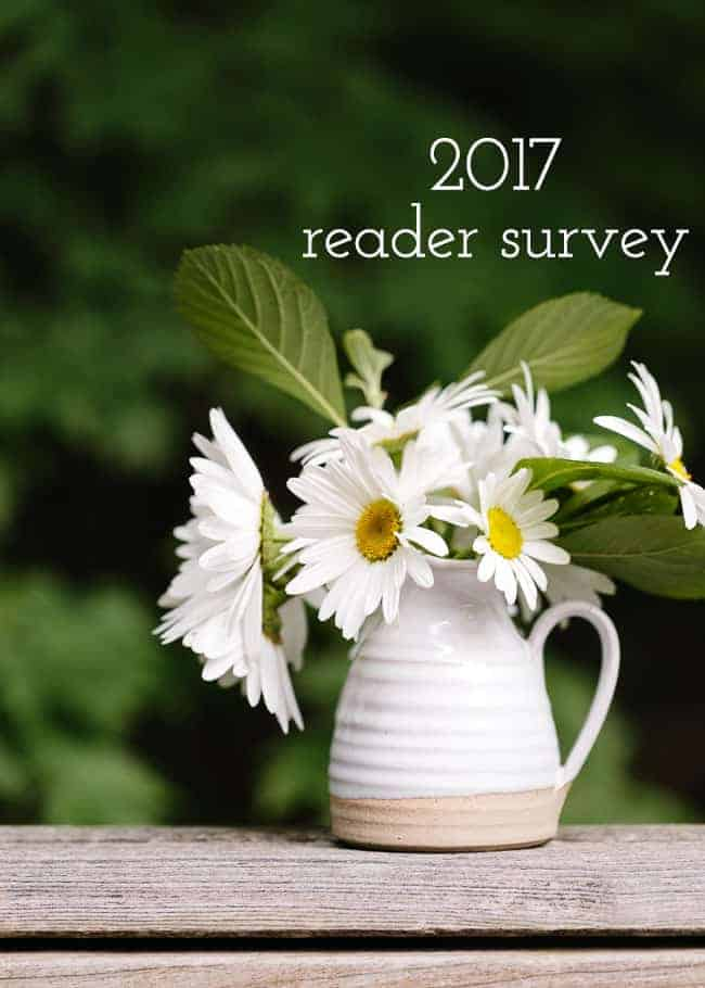 2017 Foolproof Living Reader Survey