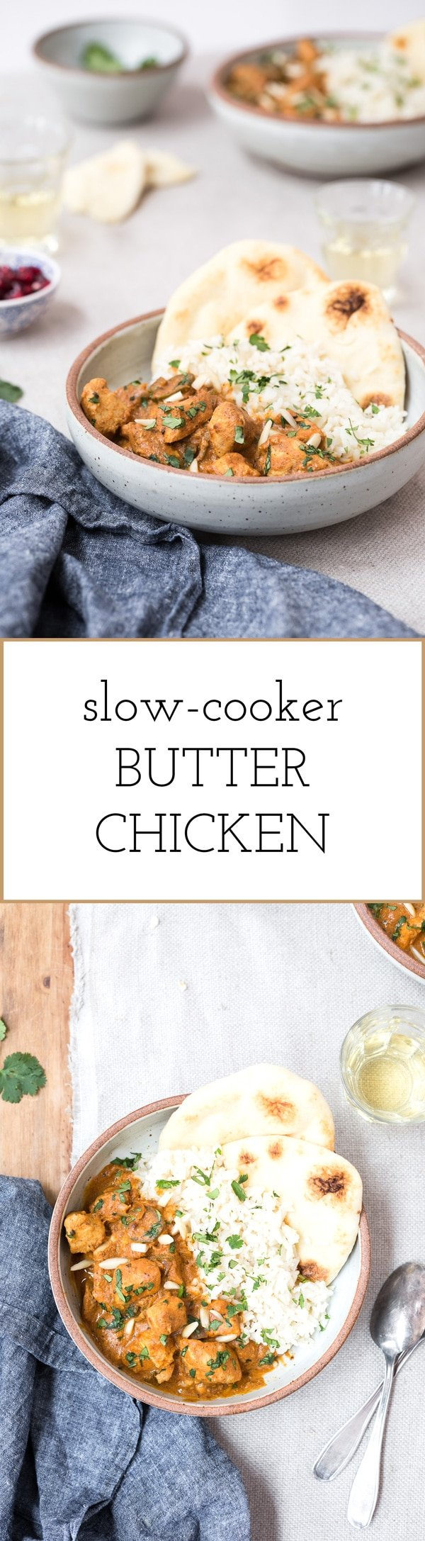 Recipe for slow cooker butter chicken