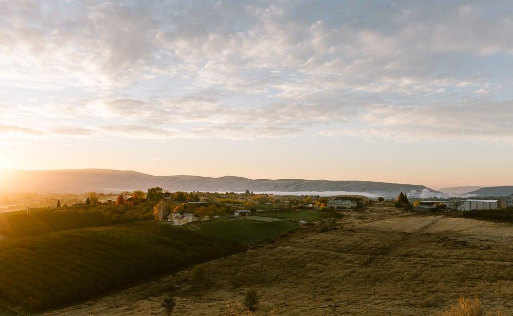 A Sunset photo from Yakima Washington.