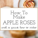 Learn How to Make Apple Roses