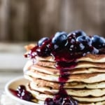 Homemade Blueberry Sauce for Pancakes