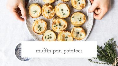 Muffin pan potatoes