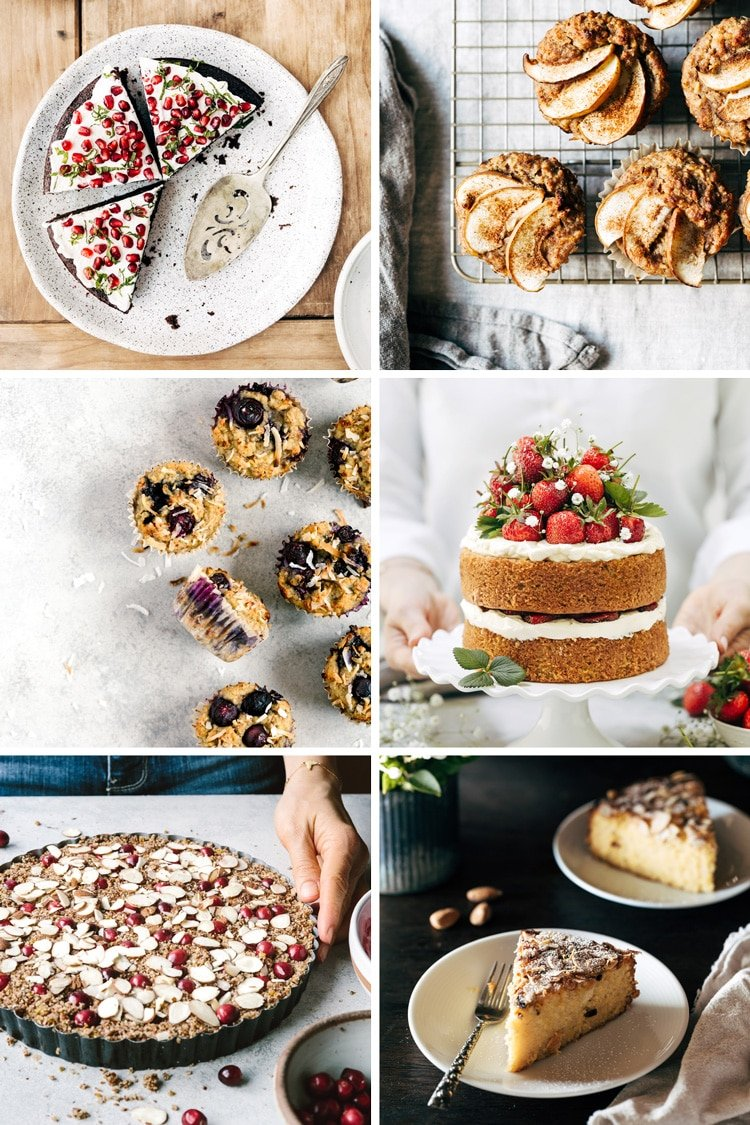 A collage of my favorite almond meal recipes