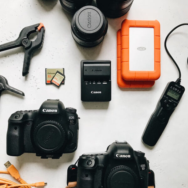 A list of my photography equipment