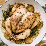 Whole Roasted Chicken with Potatoes