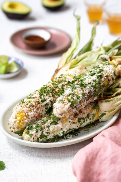 Mexican Street Corn Recipe - Easy Mexican Dishes