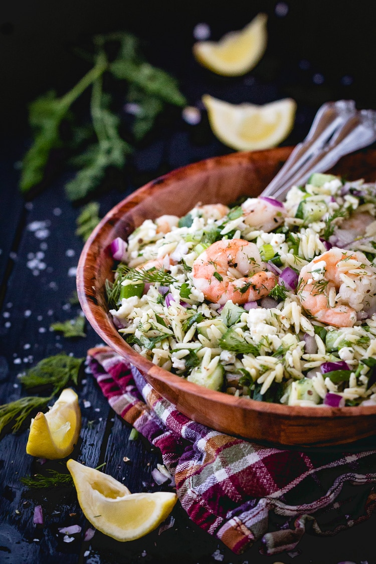 Barefoot Contessa's Orzo and Shrimp Salad