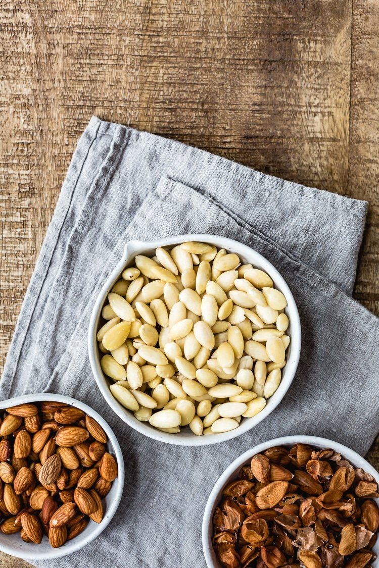 Whole Blanched Almonds recipe image