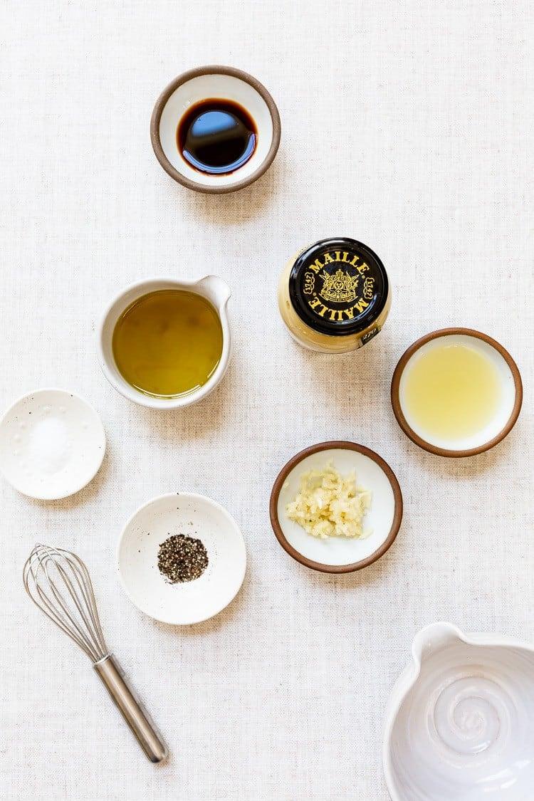 ingredients for Lemon Dijon Dressing