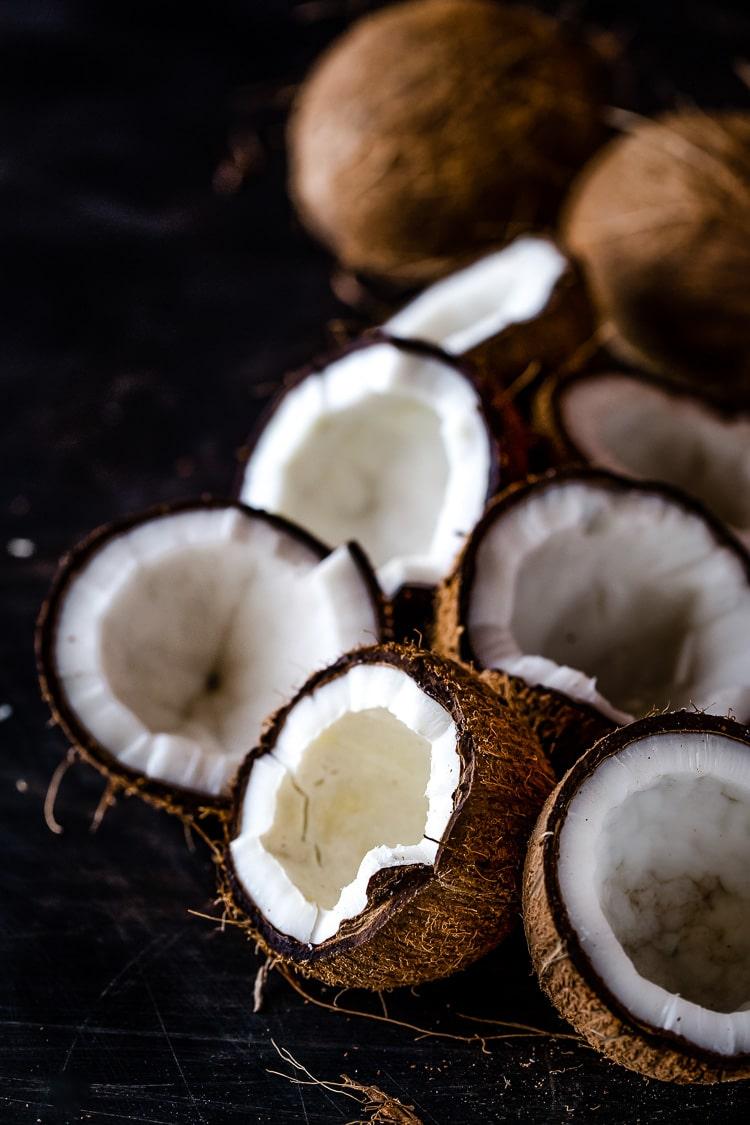 Coconut Milk and Avocado Ice Cream