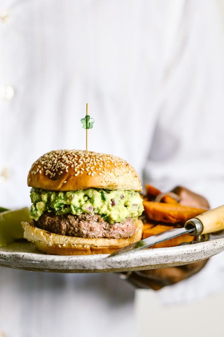 Burger for 4th of july menu