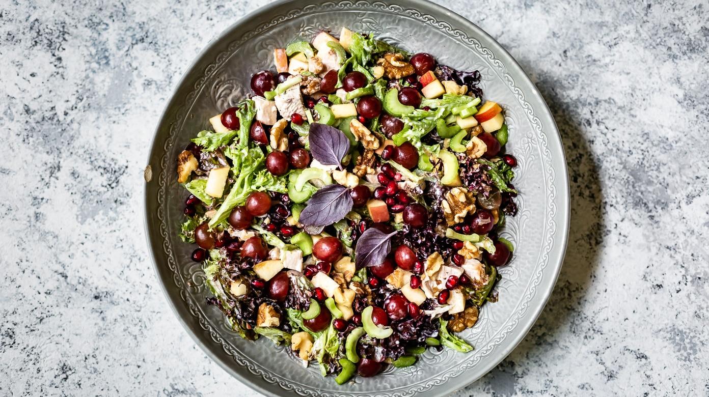 Waldorf Salad Recipe With Chicken