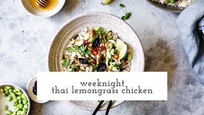 Thai Lemongrass Chicken Recipe