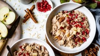 Healthy Apple Cinnamon Oatmeal Recipe