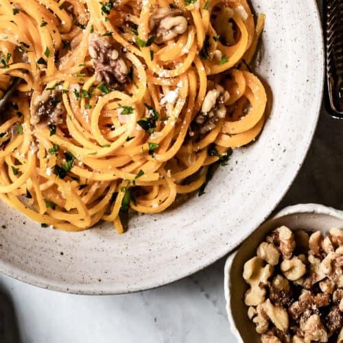 6 Ingredient Butternut Squash Noodles Recipe Foolproof Living