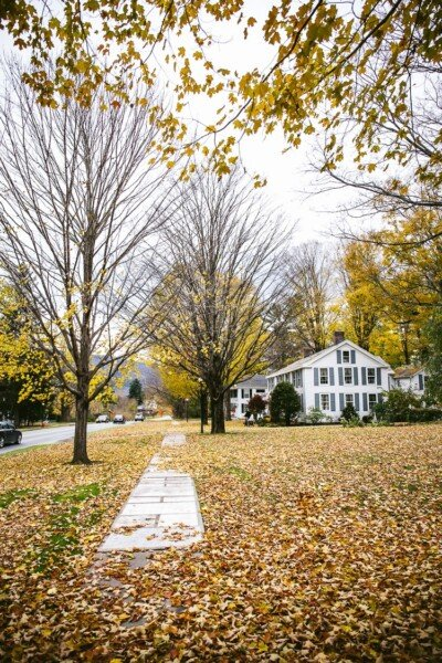 places to visit in vermont in fall