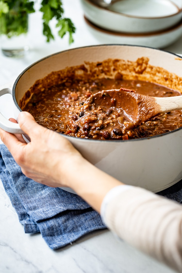 The Best Ever Vegan Chili Recipe Video Foolproof Living