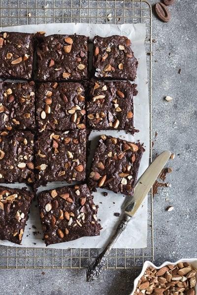 Spelt flour brownies for best super bowl desserts round up