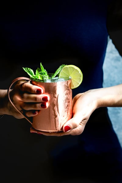 Kentucky Mule - for a easy super bowl cocktails recipe round up