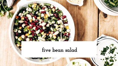 Five Bean Salad Recipe Video