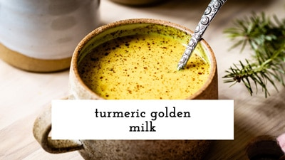 How to video for turmeric golden milk
