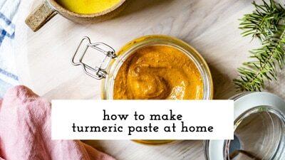 Turmeric Paste Recipe Video